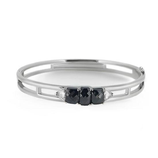 black diamond bangle- haywards of hong kong