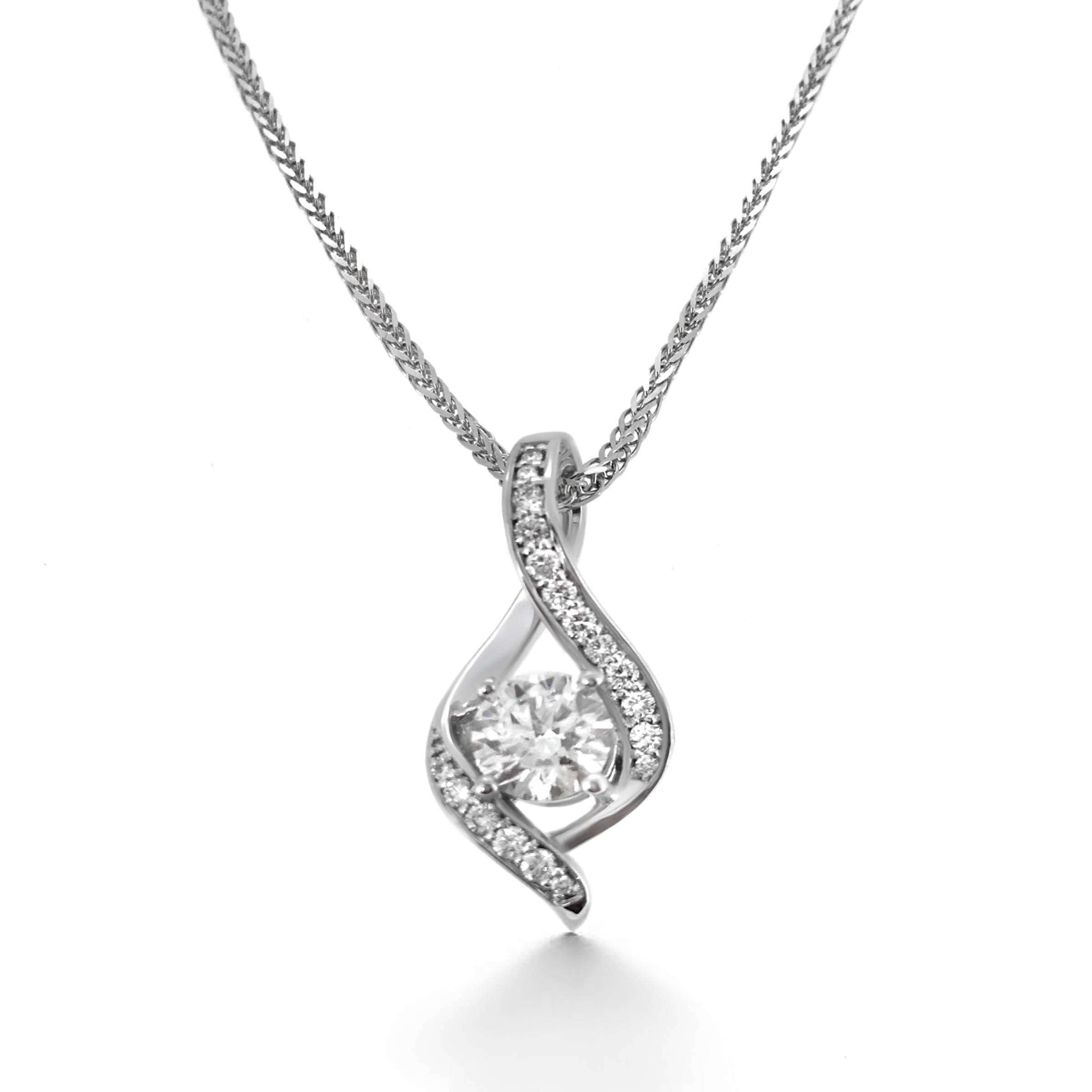 diamond pendant- haywards of hong kong