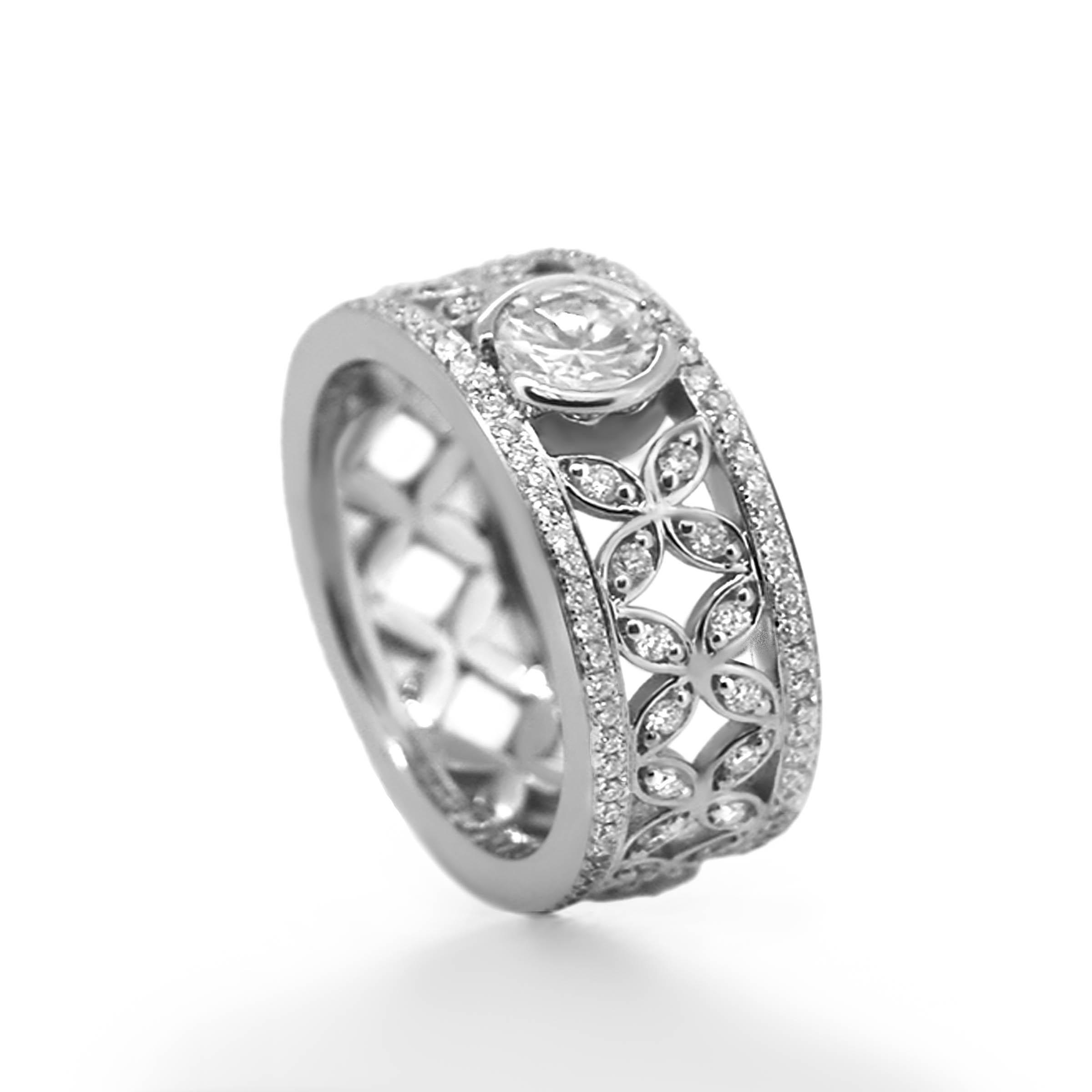 diamond dress ring- haywards of hong kong