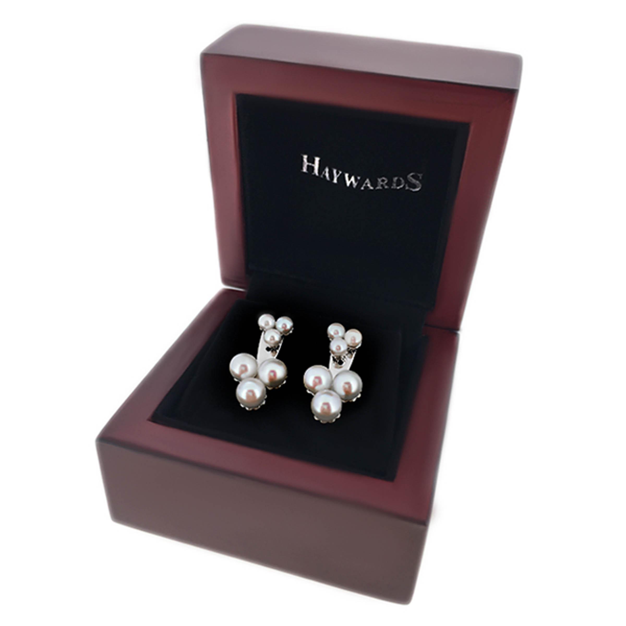 pearl earrings- haywards of hong kong