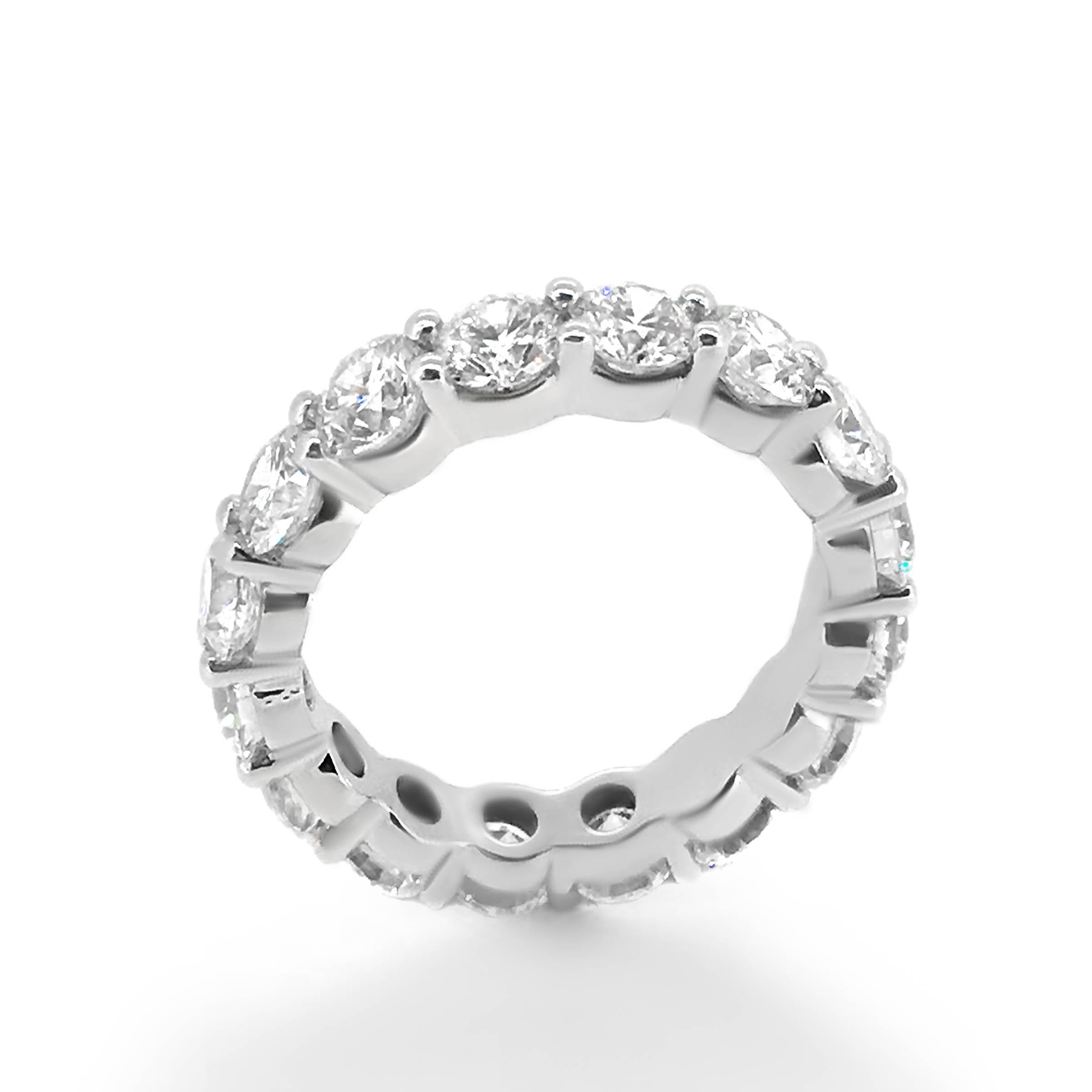 diamond eternity ring- haywards of hong kong