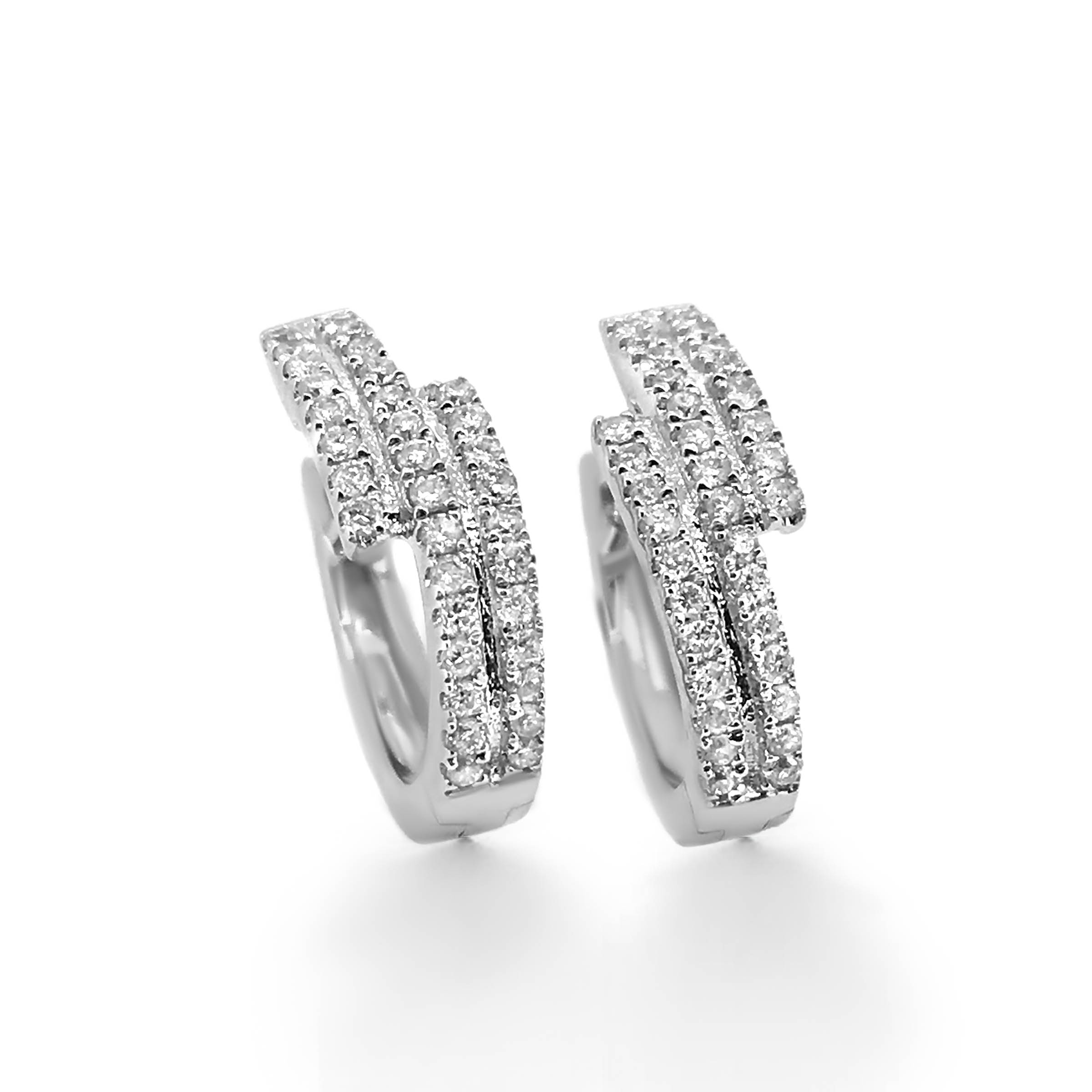 diamond earrings- haywards of hong kong