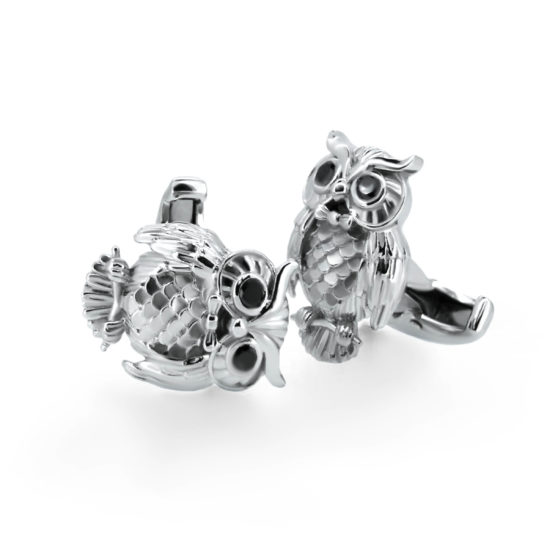owl cufflinks- haywards of hong kong