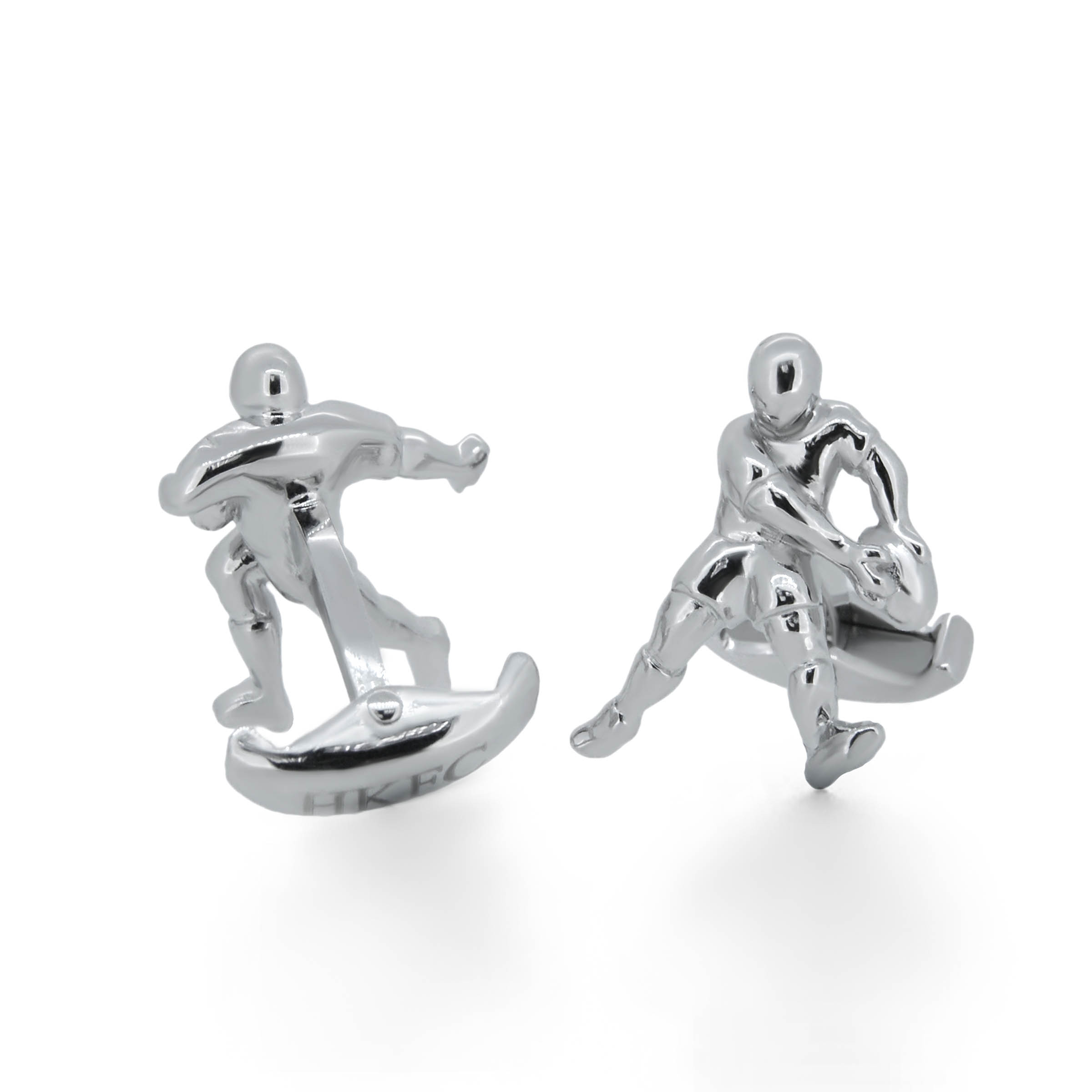 rugby cufflinks- haywards of hong kong