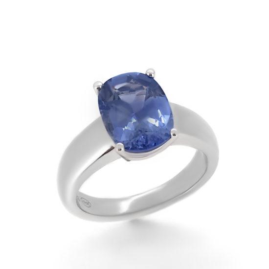 sapphire engagement ring - haywards of hong kong