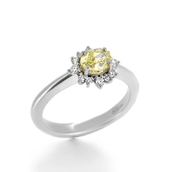 yellow diamond ring- haywardsofhongkong